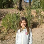 Ma petite fille à l'Oasis