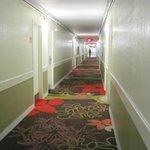 O corredor.