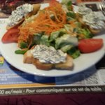 La salade Saint Jean du menu tradition