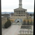 The Tennessee Statehouse from Our Room