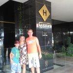 Eu, meu filho e esposo