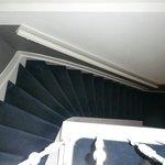 La escalera-fuera vertigo