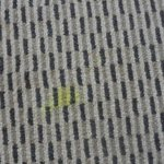 Noticeable stain on the carpet