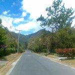 Fahrweg in El Valle