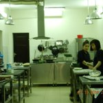 Kitchen at  Hanoi Cooking Center