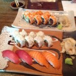 inside-out-tuna / crispy tuna / nigiri