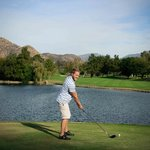 Beautiful lakes on San Vicente Golf Course