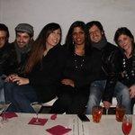 Io con miei amici per festegg il mio 32comple abb. Mang. Come aperitivo e abbiamo bevuto bella s