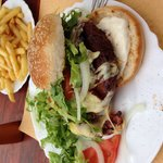 If you like burgers and like them big!