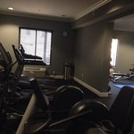 Size of the fitness room