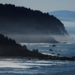 A beautiful beach on the way from Crescent City.