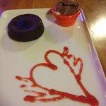 "What I call ""lava cake""....scrumptious!"