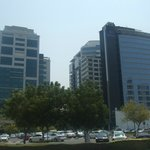 Outside view - next to Hilton Hotel