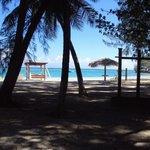 Zona de la playa frente a mi habitación