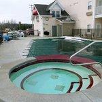 Exterior Hot Tub