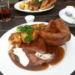 Roast beef (with lashings of horseradish)