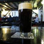 Kirkstone Black, a locally brewed, dark mild.