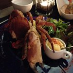 Wonder yet affordable crab starter dish