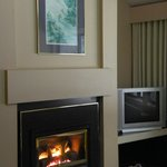 Gas fireplace - Posters from local artist