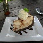 Mars Bar Cheesecake - scrumptious !!