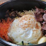 Hot stone bowl Bi Bim Bop
