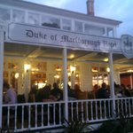 The famous Duke front porch