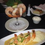 Shrimp Cocktail, Shrimp Scampi appetizers