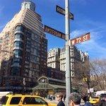 la esquina del mejor hot dog de NYC