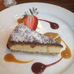 Tasty cheesecake