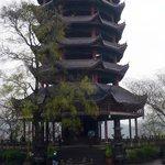 Pagoda on Fengdu