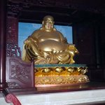Gold Budha on Fengdu