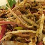 Insalata Granchio e Raddichhio di Treviso (Crab Salad). Delicious!