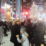 My daughter and me at Rockefeller Center