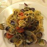 Linguine with Caparosoli (Local Venetian Clams).