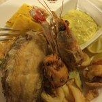 Fritto Misto del Adriatico (Mixed Local Adriatic Fried Seafood).