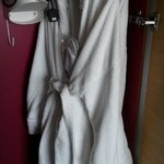 Iron and bath robes/slippers in king suite