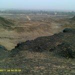 view from Jebel El Inglish/English Mt