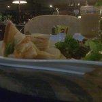..food at the ATRIUM main lobby..