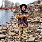 catching loads of brown trout w utah pro fly fishing