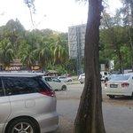 ample car park..