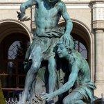 Statue at Vigado Square
