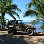 We hired a jeep and went 4wding around the Island- highly recommended!