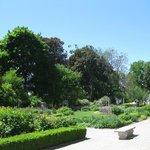 Gardens outside the castle