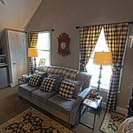 The Terrier Suite has contemporary design and flair