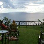 Ocean overlook bar