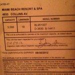 Last elevator certificate!!!!