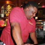 My favorite bartender, Andrew!