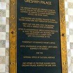 Gresham Palace history at Four Seasons