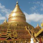 The Golden Stupa of Shwezigon Paya.