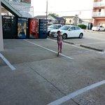 parking and play area at acacia